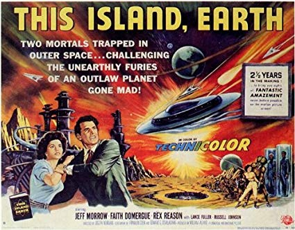 THE JAM-PACKED SCREAM FACTORY BLU-RAY OF '50S SCI-FI FAVORITE 'THIS ISLAND EARTH' IS OUT OF THIS WORLD
