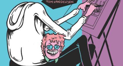 [GRINDHOUSE COMICS COLUMN] 'EXPELLING MY TRUTH' BY TOM VAN DEUSEN