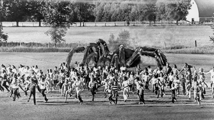 The RiffTrax Gang Dishes On THE GIANT SPIDER INVASION, The Creative Process, and Wisconsin