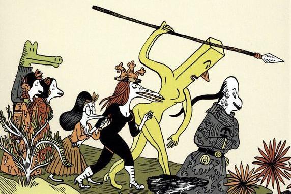 [GRINDHOUSE COMICS COLUMN] 'THE EMPRESS CIXTISIS' BY ANNE SIMON