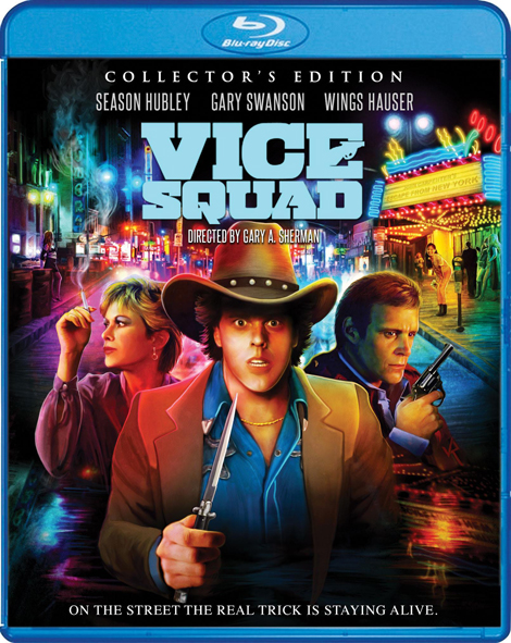 Scream Factory Blu-Ray of VICE SQUAD