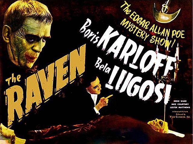 Universal Horror, THE RAVEN poster
