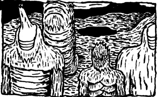 [GRINDHOUSE COMICS COLUMN] 'TERATOID HEIGHTS' BY MAT BRINKMAN