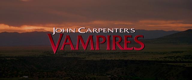 [BLU-RAY REVIEW] JOHN CARPENTER'S VAMPIRES (1998)