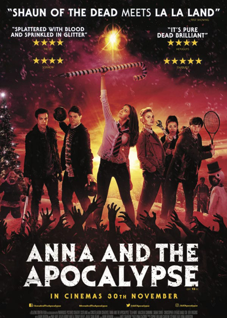 Poster for 2017's ANNA AND THE APOCALYPSE