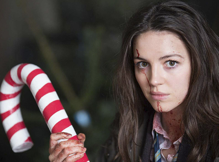 A bit of sweetness to go with some zombie violence in ANNA AND THE APOCALYPSE (2017)
