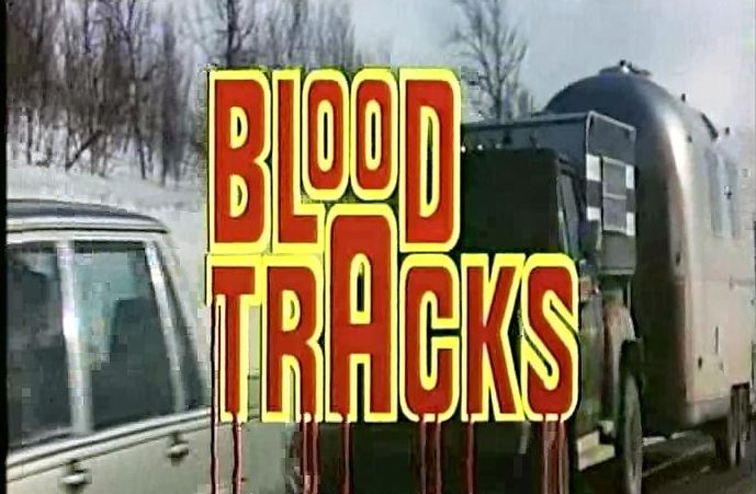 BLOOD TRACKS (1985) title screen