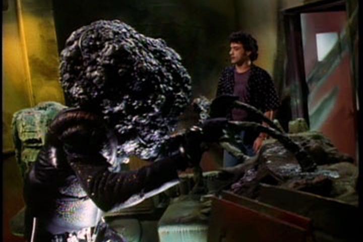 Alien and lead Paul Hipp in BAD CHANNELS
