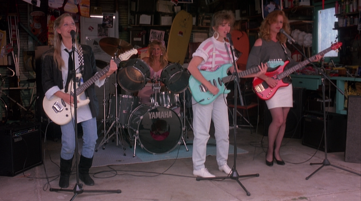 Band Practice in SLUMBER PARTY MASSACRE II (1987)