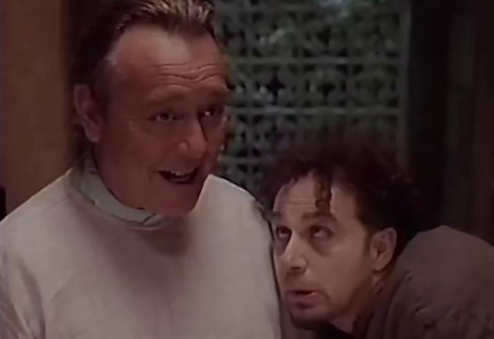 Bobby Pickett and John Kassir in MONSTER MASH: THE MOVIE