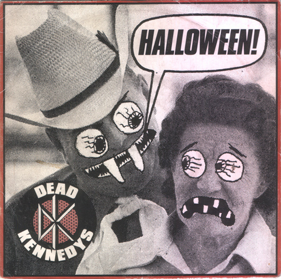 """There are a lot of songs called """"Halloween"""" but only the one by Dead Kennedys deserves a spot on Ale's Halloween playlist"""