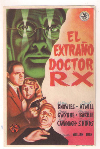 Universal Horror Collection, Volume 2 - THE STRANGE CASE OF DR. RX