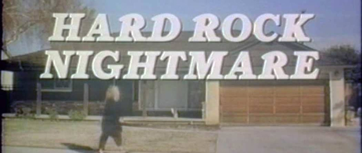 Title card for HARD ROCK NIGHTMARE (1988)
