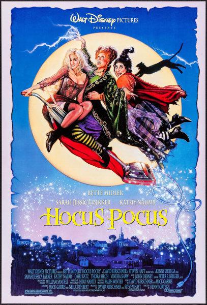 HOCUS POCUS (1993) film poster