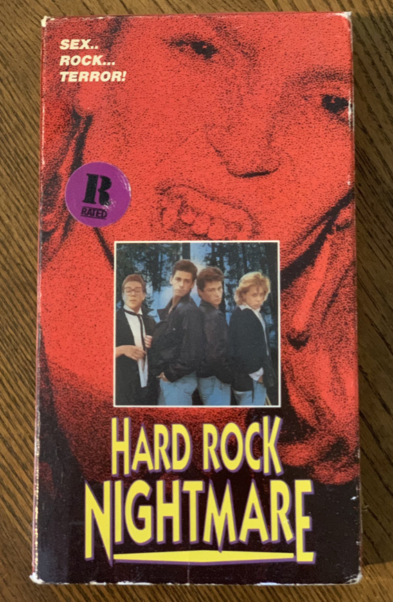 The author's own personal copy of HARD ROCK NIGHTMARE