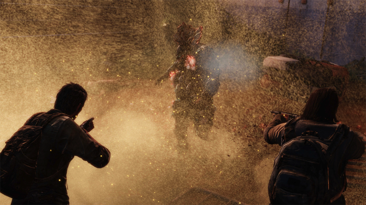 Infected abound in THE LAST OF US