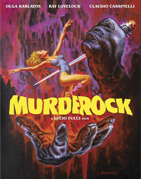 Blu-ray cover for 1984's MURDEROCK