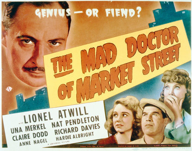Universal Horror Collection, Volume 2 - THE MAD DOCTOR OF MARKET STREET