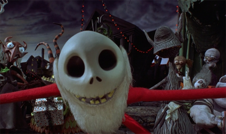 THE NIGHTMARE BEFORE CHRISTMAS: You know...for kids.