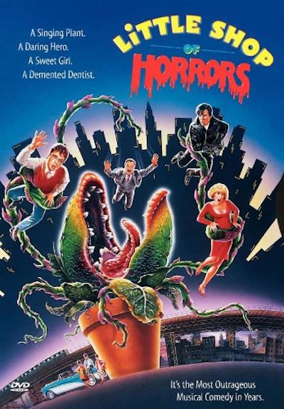 Poster/DVD cover for LITTLE SHOP OF HORRORS