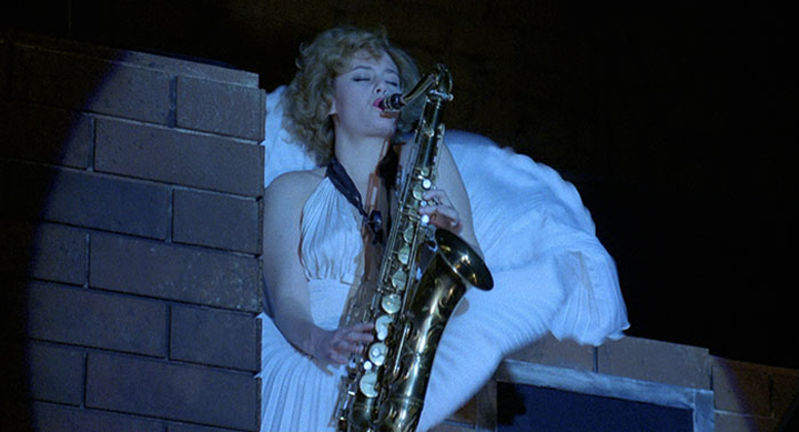 The musicality of STAGE FRIGHT: AQUARIUS (1987)