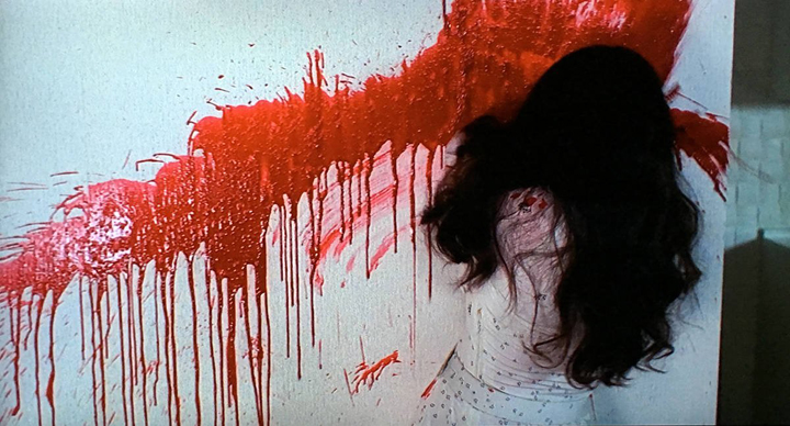 Shot from Dario Argento's TENEBRE (1982)