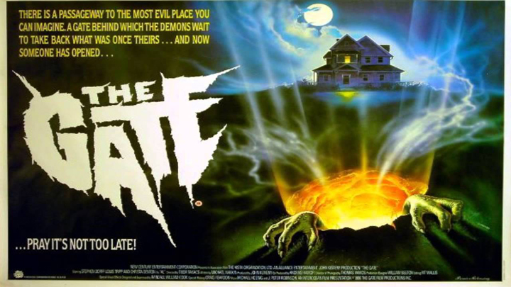 Poster for 1987's THE GATE