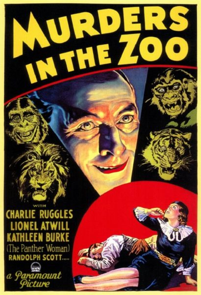 Universal Horror Collection, Volume 2 - MURDERS IN THE ZOO