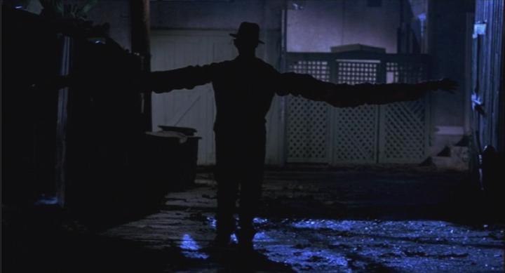 A Nightmare On Elm Street 1984 Robert Englund hug it out