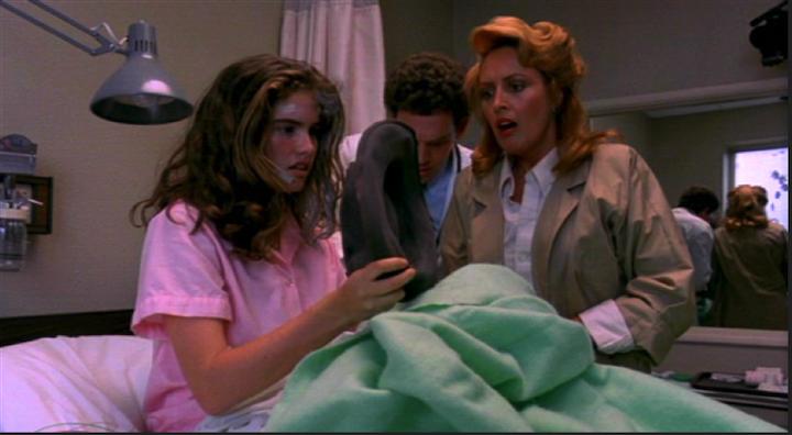 A Nightmare on Elm Street 1984 Heather Langenkamp Charles Fleischer Ronnie Blakley can leave their hat on