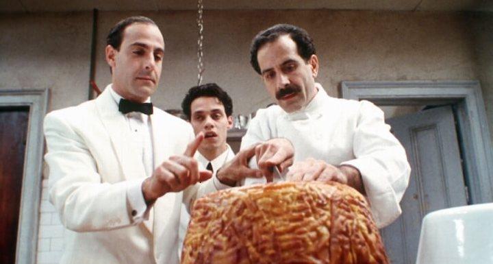 BIG NIGHT 1996 Stanley Tucci, Marc Anthony, Tony Shalhoub