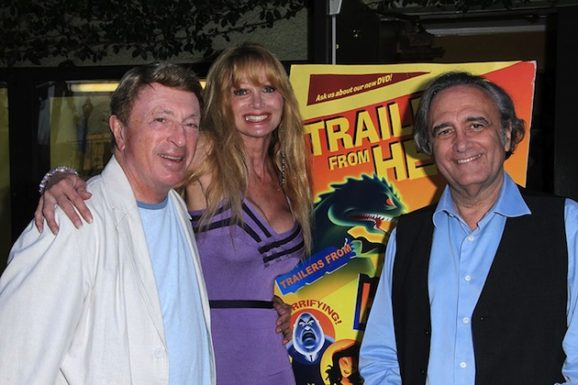 Larry Cohen, Laurene Landon, Joe Dante