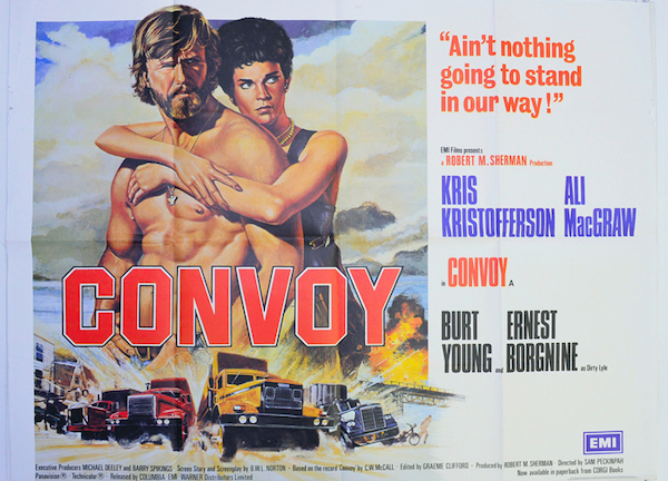 Convoy 1978 Movie Poster