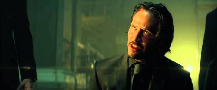 John Wick 2014 He's Thinking He's Back