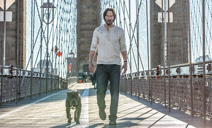 John Wick Chapter Two Troubled Waters Over The Bridge