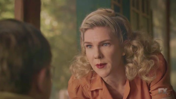 Lily Rabe in American Horror Story 1984 Episode 7 Lady In White