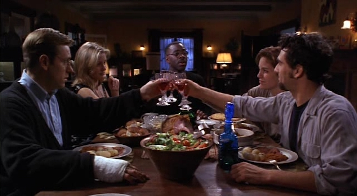 THE LAST SUPPER (1995) toast to murder