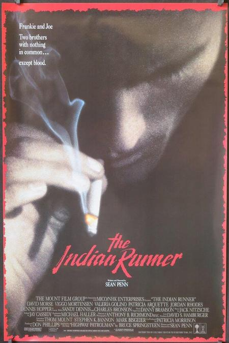The Indian Runner 1991 movie poster