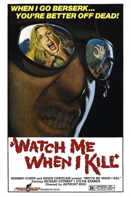 WATCH ME WHEN I KILL Poster