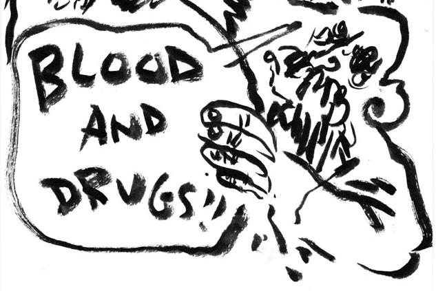 [GRINDHOUSE COMICS COLUMN] 'BLOOD AND DRUGS' BY LANCE WARD