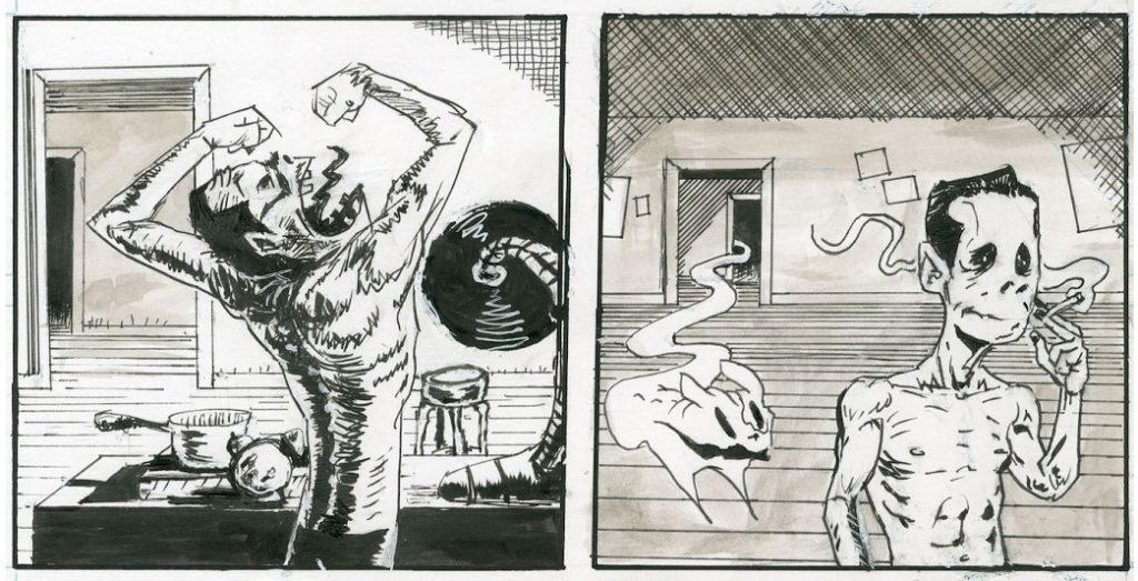 [GRINDHOUSE COMICS COLUMN] 'TAD MARTIN #7' BY CASANOVA FRANKENSTEIN