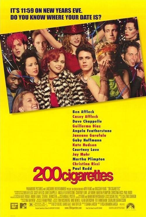 200 CIGARETTES (1999) poster