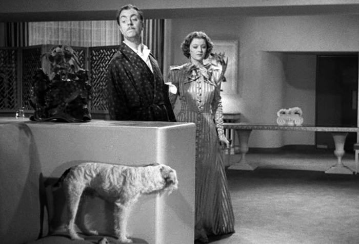 AFTER THE THIN MAN (1936) Asta William Powell and Myrna Loy