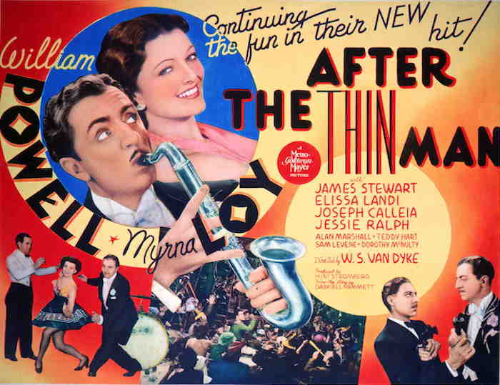 AFTER THE THIN MAN (1936) poster