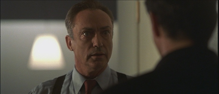 END OF DAYS (1999) find someone who looks at you the way Udo Kier looks at the devil