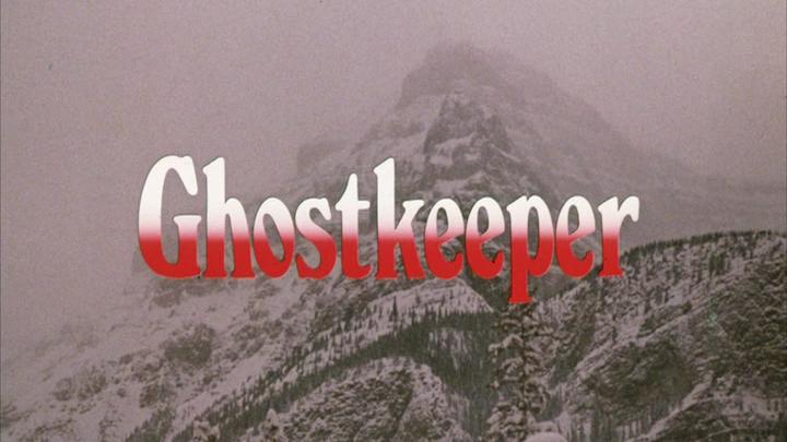 GHOSTKEEPER (1981) title screen