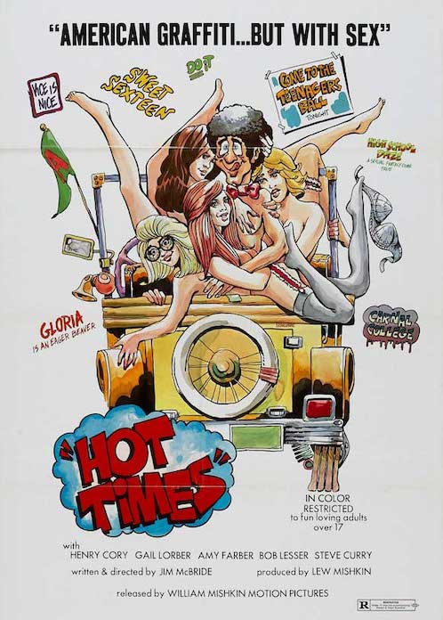 A HARD DAY FOR ARCHIE aka HOT TIMES (1974) Poster