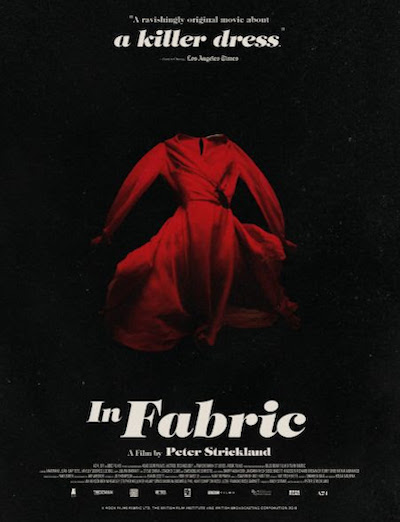 Second poster for IN FABRIC from Peter Strickland and A24 films