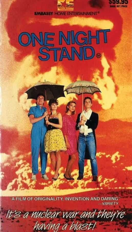 ONE NIGHT STAND (1984) Video Box Art