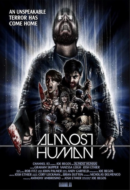 ALMOST HUMAN (2013) movie poster